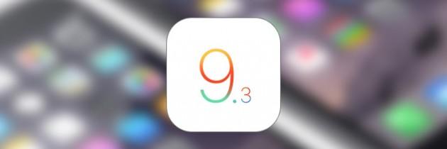 Encore un coup dur pour iOS 9.3