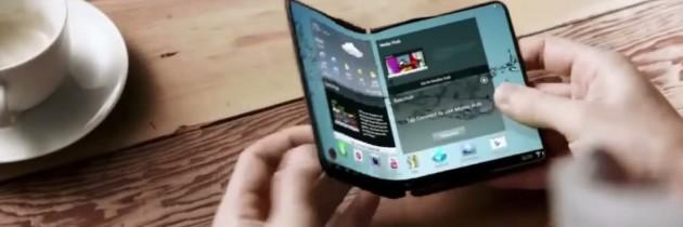 Samsung : écrans pliables en début d'année 2017 ?